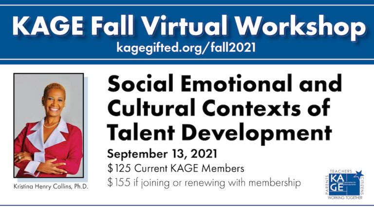 Kentucky Association for Gifted Education Fall Workshop - Dr. Kristina Henry Collins